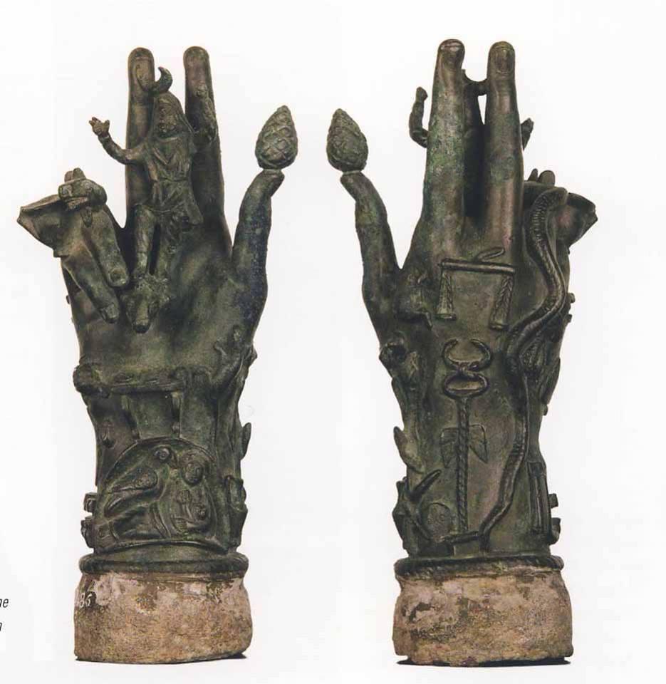 вотивни ръце на сабазий